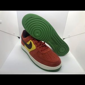 Nike Air Force 1 Retro EYBL Dragon Red Size 14